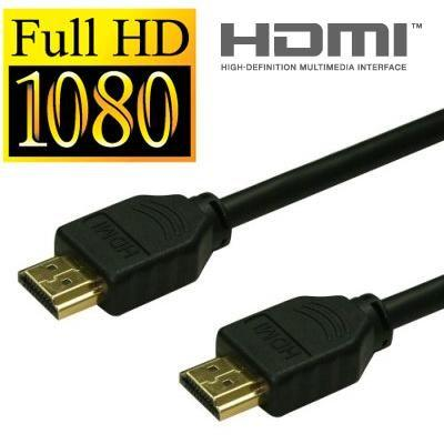 Cabo Hdmi x Hdmi 5 Metros Full HD Tv 3d Led Lcd Playstation 3 4 Xbox 360 Xbox One Receptor Notebook