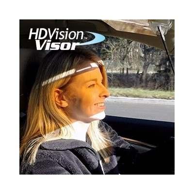 Visor Quebra Sol Dia E Noite Carro Caminhão Taxi Hd Vision