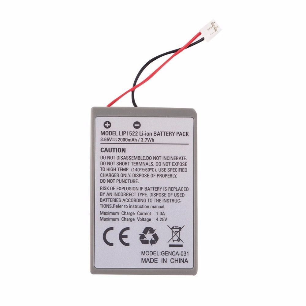 Bateria do Controle Playstation 4 Ps4 Lip1359 6x13akg Dualshock 2000mh com Cabo