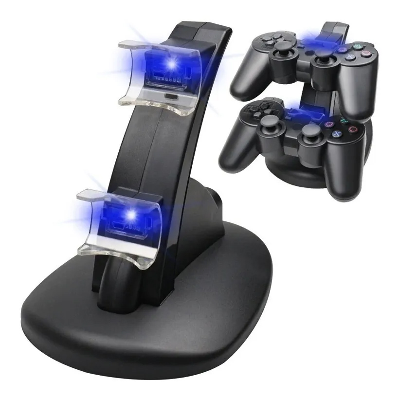 Carregador De Joystick Ps3 Playstation 3 Dock Vertical