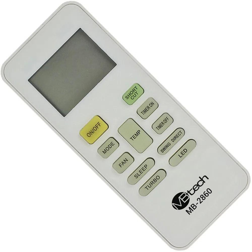 Controle Ar Condicionado Carrier Springer Rg52b/e 42FNCA12S5 42FNCA09S5 42FNQA12S5 42FNQA09S5