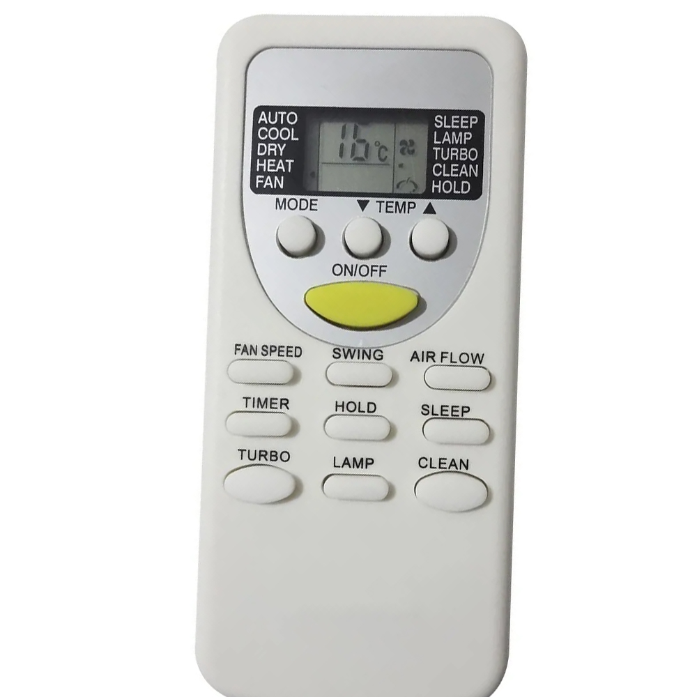 Controle Ar Condicionado York Komeco Rheem ZH/JT-01 Zh/jt-03 ABS07FCE LTS07FCE
