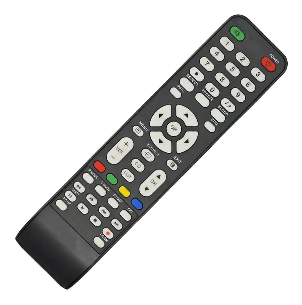 Controle da Tv Lcd Led Cce Lw2401 Cw3201 C390 D3201 L2401 LN39G CW3201 D3201 Compatível