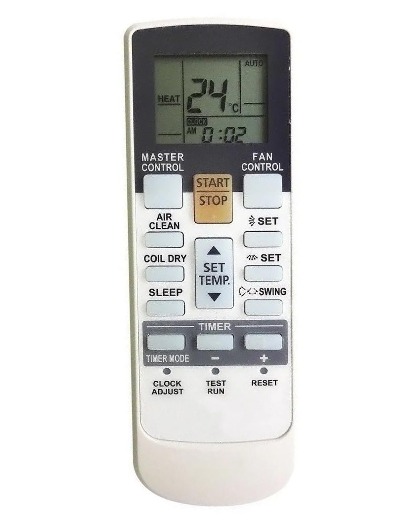Controle para Ar Condicionado Fujtisu ASBA12LC  ASBA18LC ASBA24LC ASBA30LC ABBG45LRTA ABBA45LCT