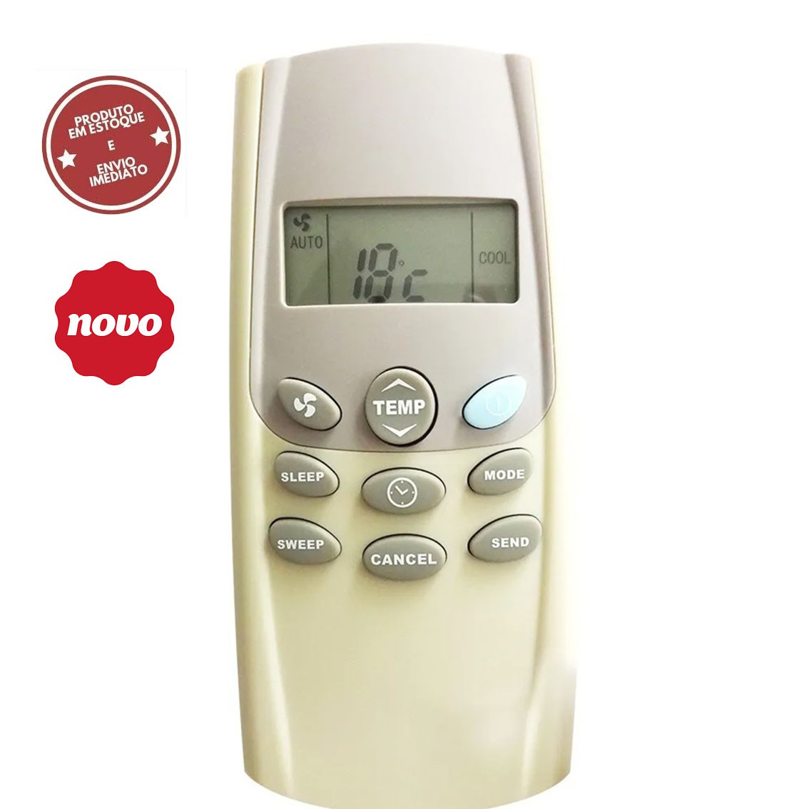 Controle Remoto Ar Condicionado Carrier 41014010 42XQB018515 42XQB018515LS