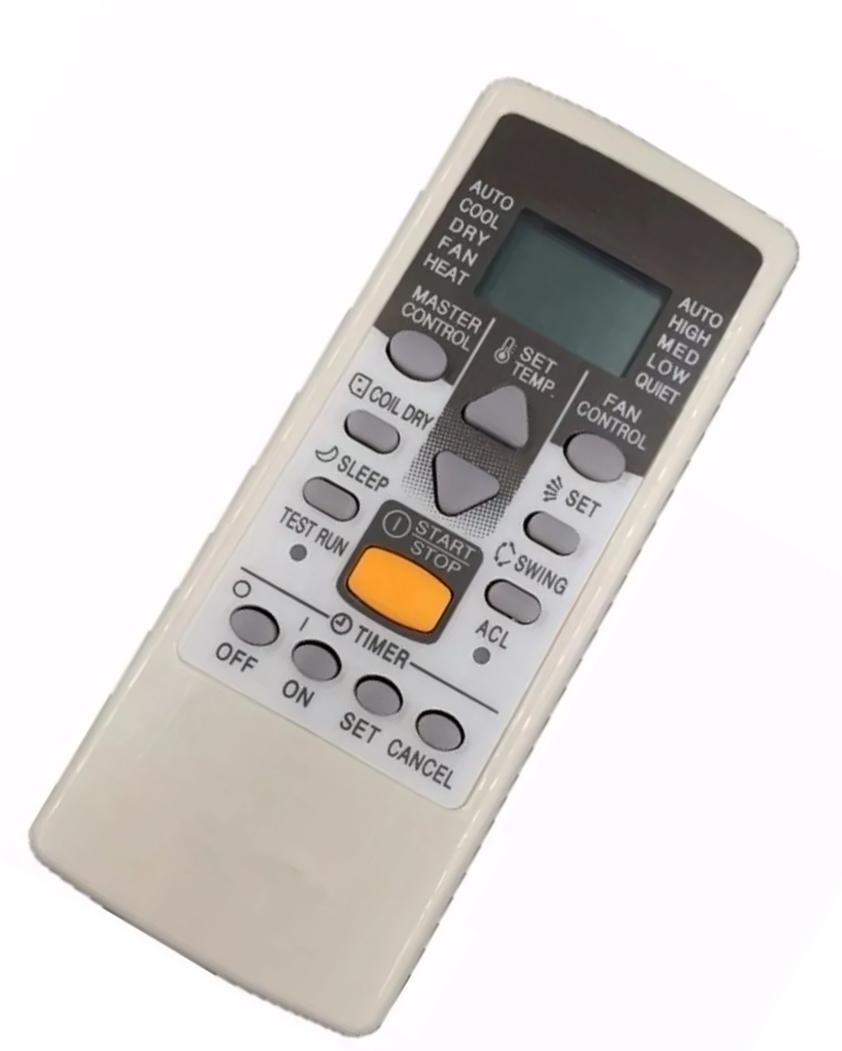 CONTROLE REMOTO AR CONDICIONADO FUJITSU ASB9A1 ASB12A1 AST7USACW AST9USACW Compatível