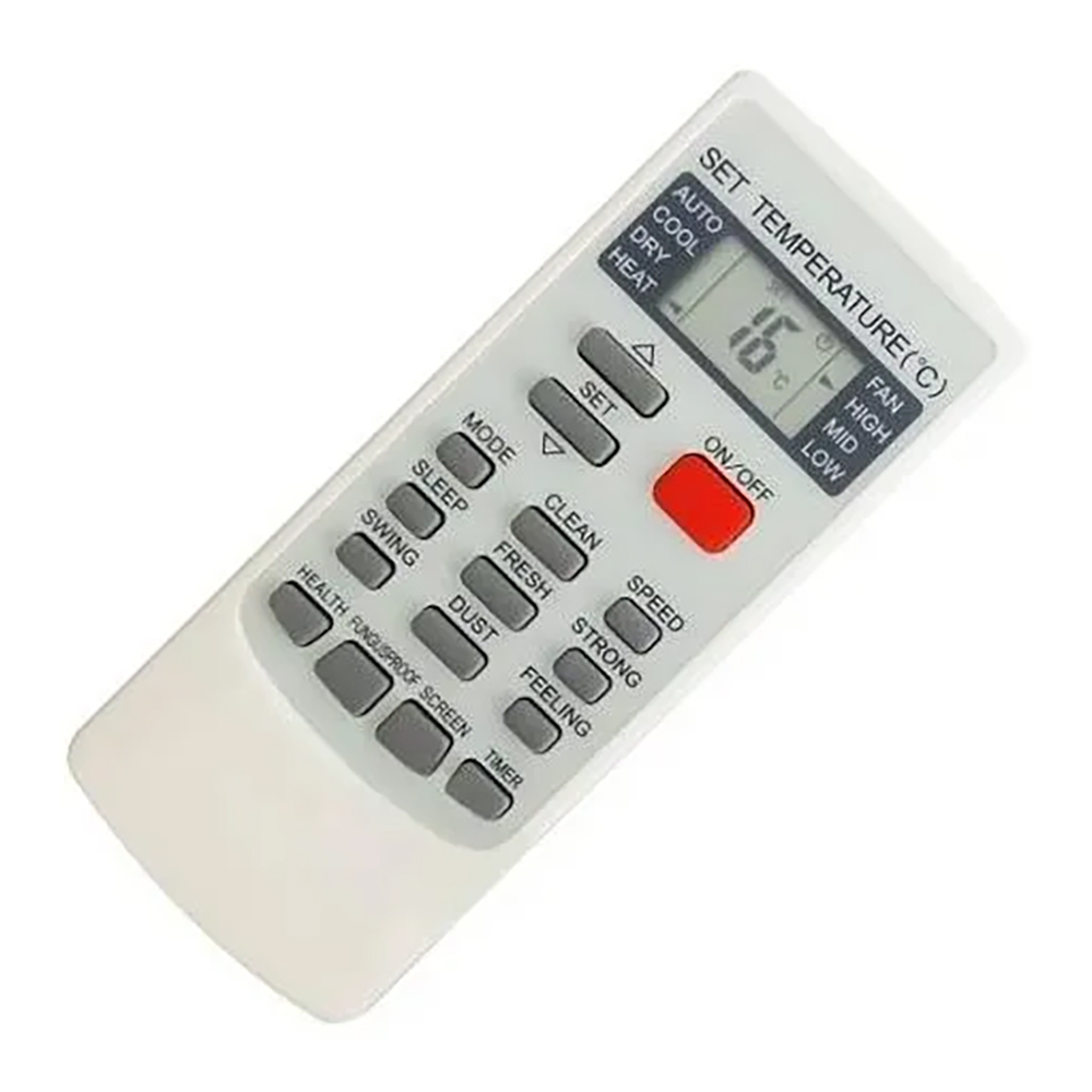 Controle Remoto Ar Condicionado Split Elgin Hoss HPFE12A2NA HPFI122NA HEFI12B2IA 45HVFE12B2IA
