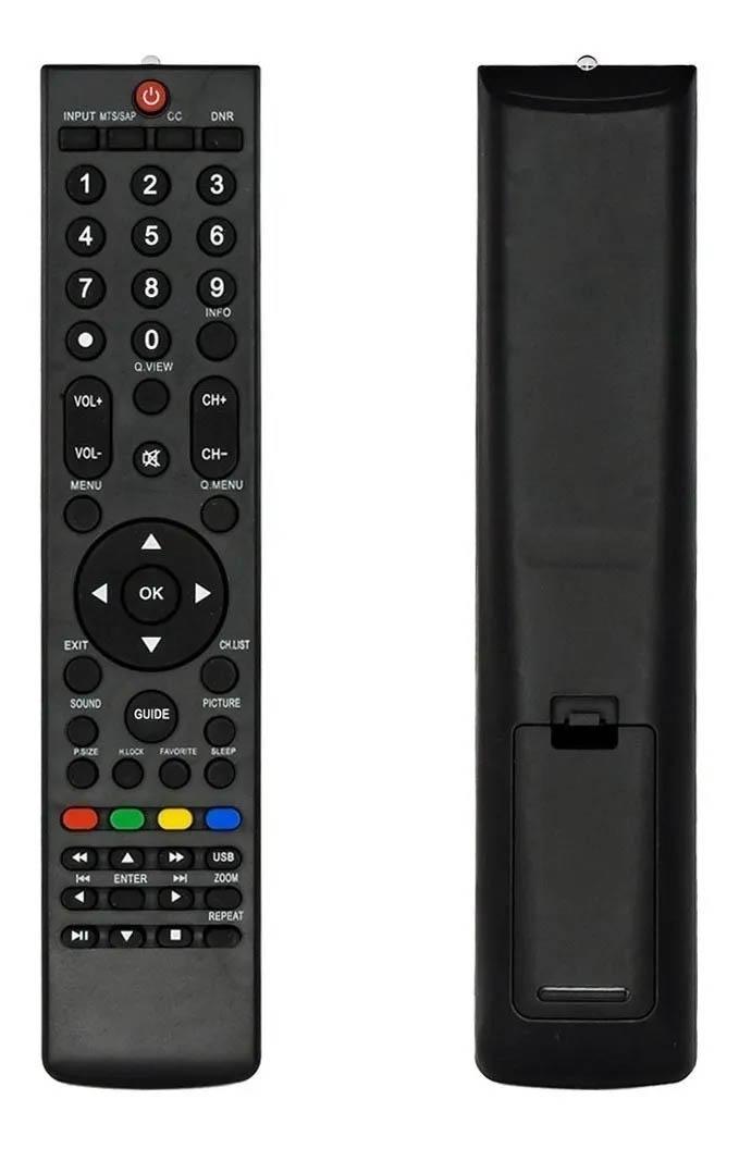 CONTROLE REMOTO PARA TV H-BUSTER HBTV-42L05FD HBTV-32L05HD COMPATÍVEL