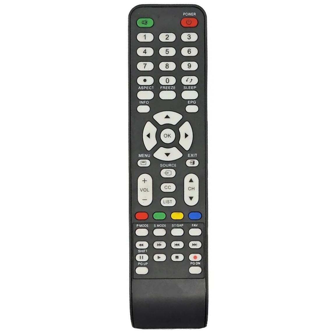 CONTROLE REMOTO PARA TV LCD CCE RC-512 RC-517 L322 LK42 Compatível