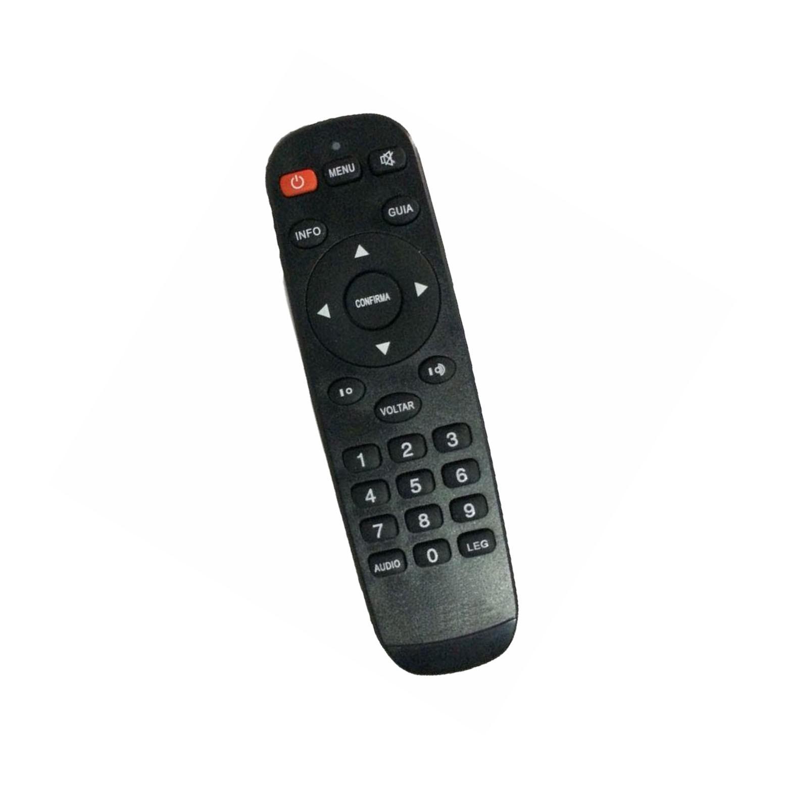 Controle Remoto Receptor Freesky TV 4K Ultra HD