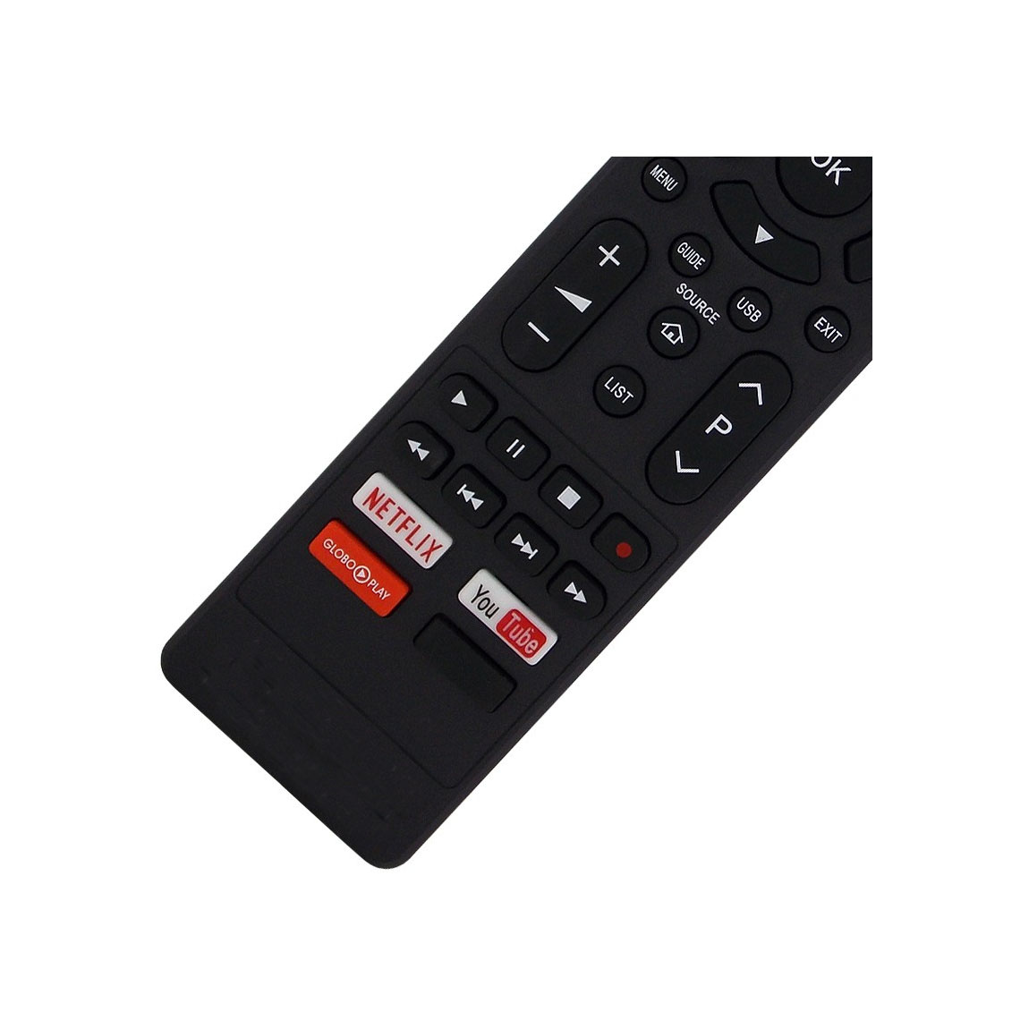Controle Remoto Smart Tv Philco Britânia Com botão Netflix Youtube Globoplay