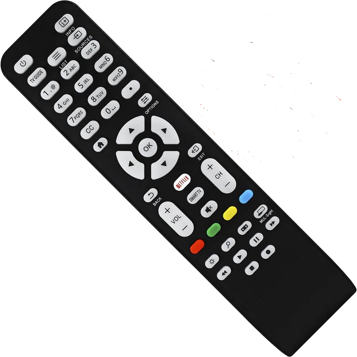 CONTROLE REMOTO TV AOC SMART COM BOTÃO NETFLIX VC8203 COMPATÍVEL