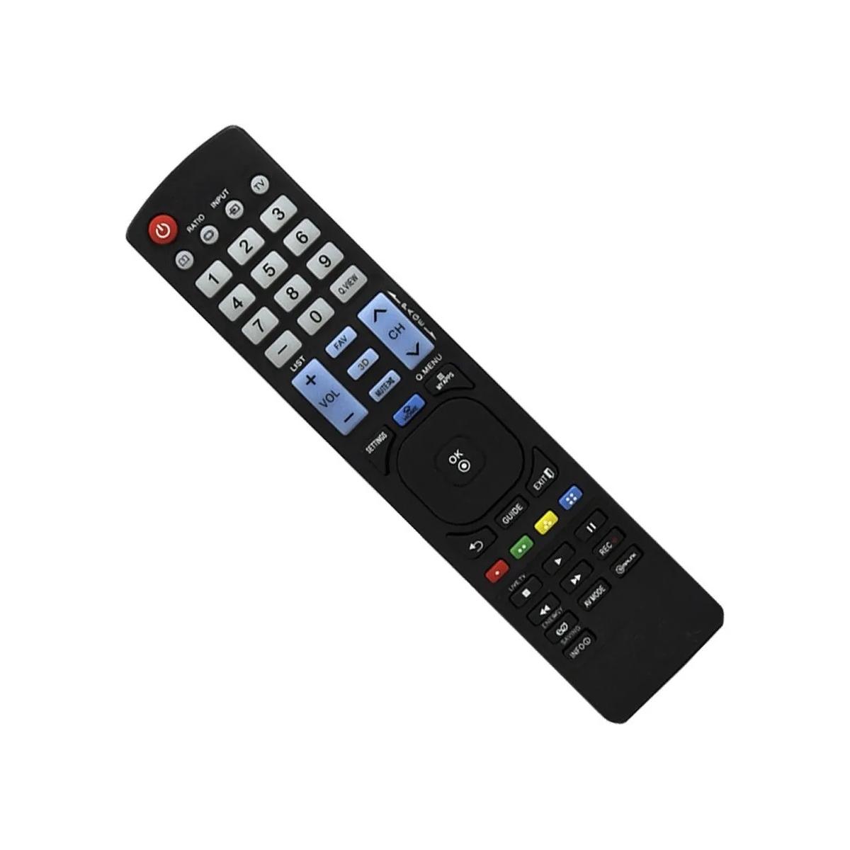 Controle Remoto Tv Lcd Led 3d Smart Lg LM7600 47LM7600 55LM7600 47LM8600 42LM6200 47LM6200