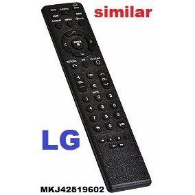 Controle Remoto Tv LG Lcd 42lh40ed 50pq30td 42lh45e Mkj40653805 Mkj40653808
