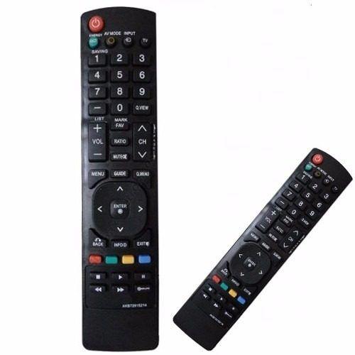 Controle Remoto Tv LG Lcd Led 32LE5300 37LE5300 42LE4300 42LE4600 42LE5300 47LE4600