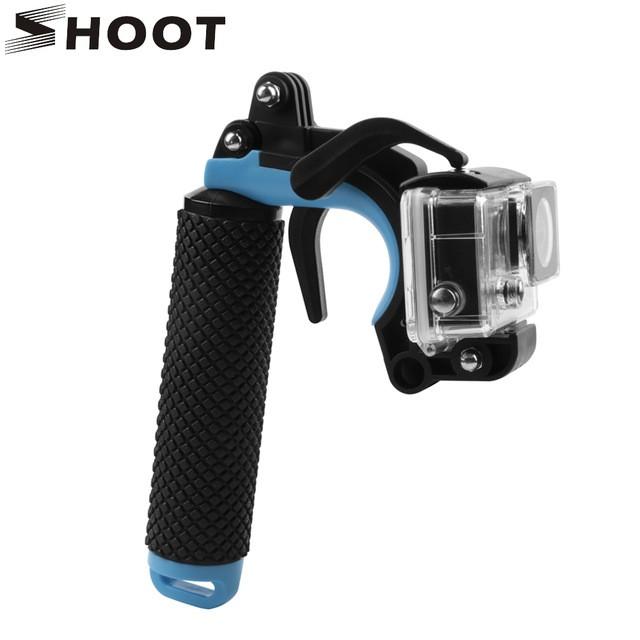 Pistola Bastão Suporte Gopro 1 2 3 4 5 SJ4000 SJ5000 SJ6000 SportCam Disparador 3 In 1 No R