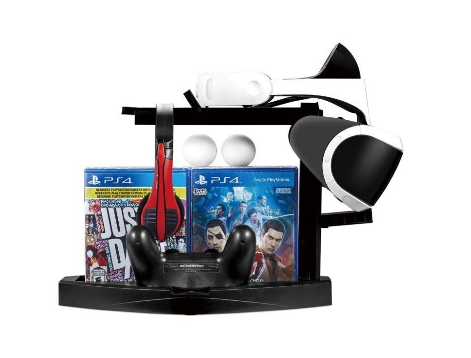 Suporte Base Ps4 Slim Pro Playstation4 Vr Carrega Move Joystick