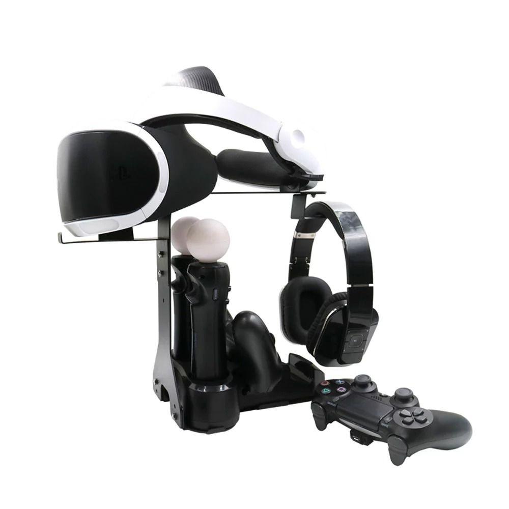 Suporte Óculos Vr Playstation 4 Ps4 Carrega Controle E Move