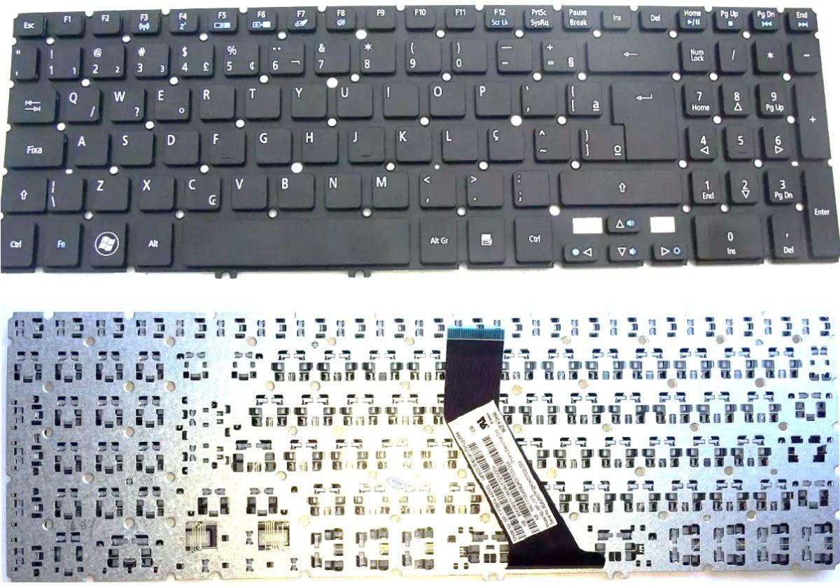 Teclado Ultrabook Acer Aspire M5-581M5-581G M5-581T M5-581TG MP-11F53U4-528 6M.4VMKB.009 60.M2DN1.033 60.M2FN1.027 904VM07O1D