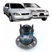 Cubo de Roda Traseira CHEVROLET Astra, 1999 até 2009, com ABS, 4 Furos