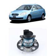 Cubo de Roda Traseira HYUNDAI Accent 2006 até 2011 com ABS