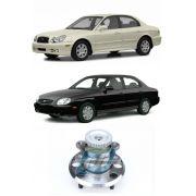 Cubo de Roda Traseira HYUNDAI Sonata 1999 até 2004, Com ABS
