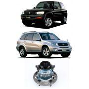 Cubo de Roda Traseira TOYOTA RAV4 1996 até 2005, 4x2, com ABS