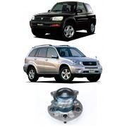 Cubo de Roda Traseira TOYOTA RAV4 1996 até 2005, 4x2, sem ABS