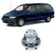 Cubo Roda Traseira CHRYSLER Caravan e Grand Caravan 1996 até 2000, FWD, com ABS