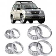 Rolamentos Diferencial Chevrolet Tracker 2001, 2007, 2008, 2009.