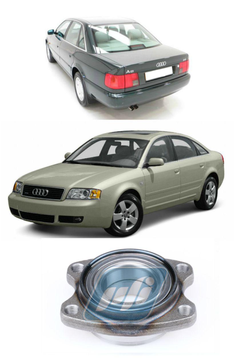 Cubo de Roda Dianteira AUDI A6 1997 até 2005, com ABS