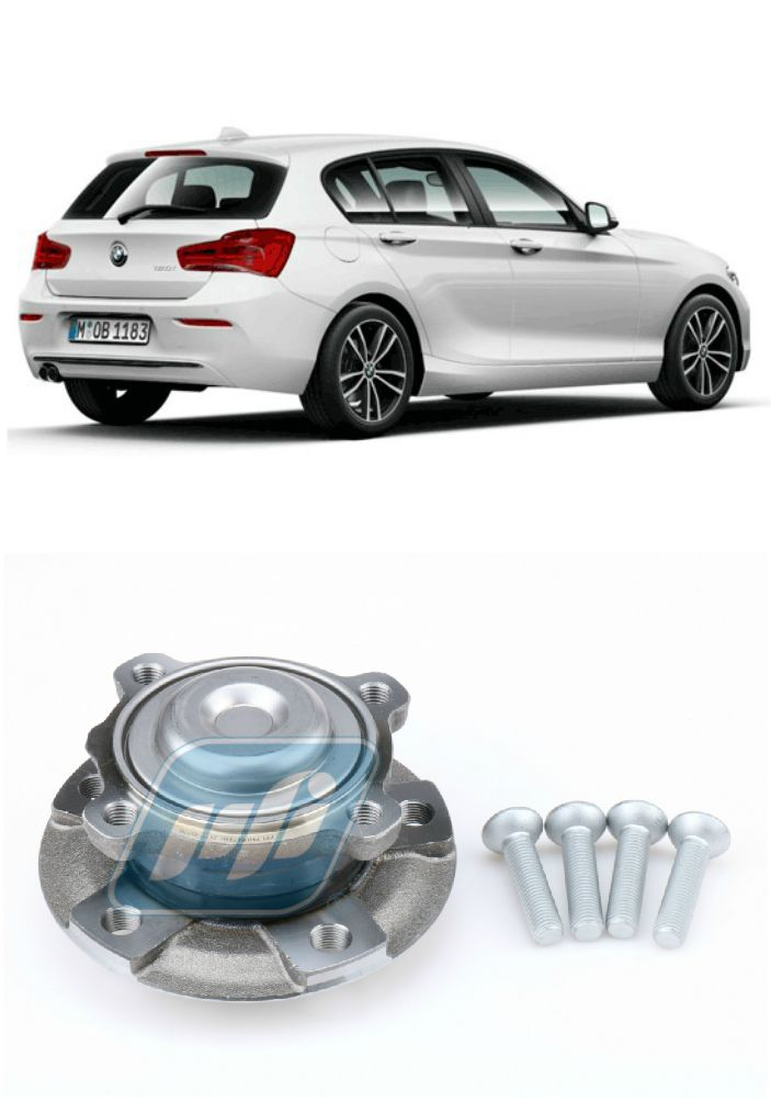 Cubo de Roda Dianteira BMW 120i 2012 até 2019, com ABS