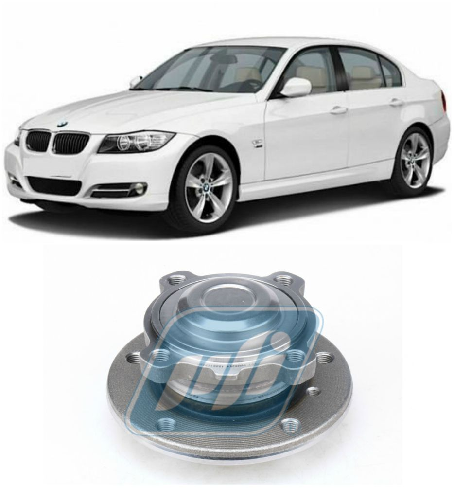 Cubo de Roda Dianteira BMW 328i 2005 até 2013, com ABS