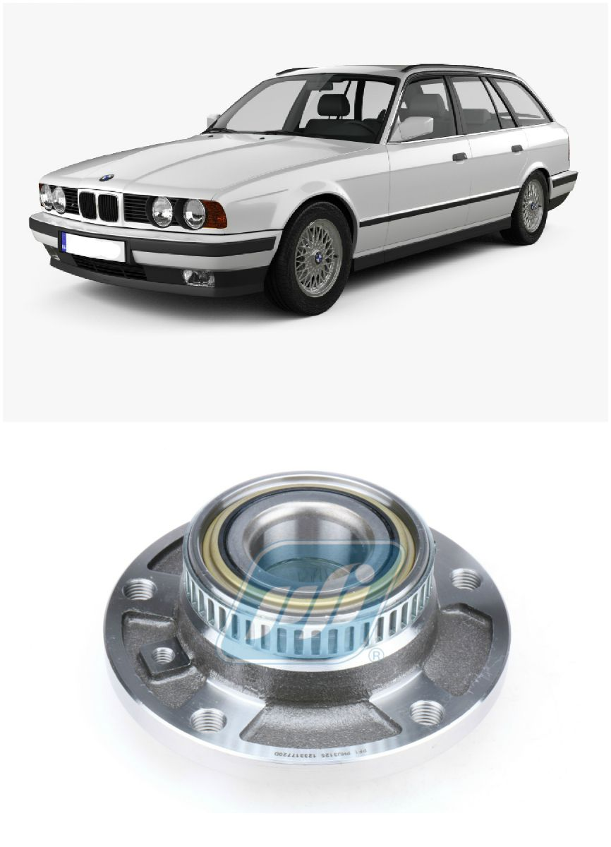 Cubo de Roda Dianteira BMW 518 Touring1993 até 1996