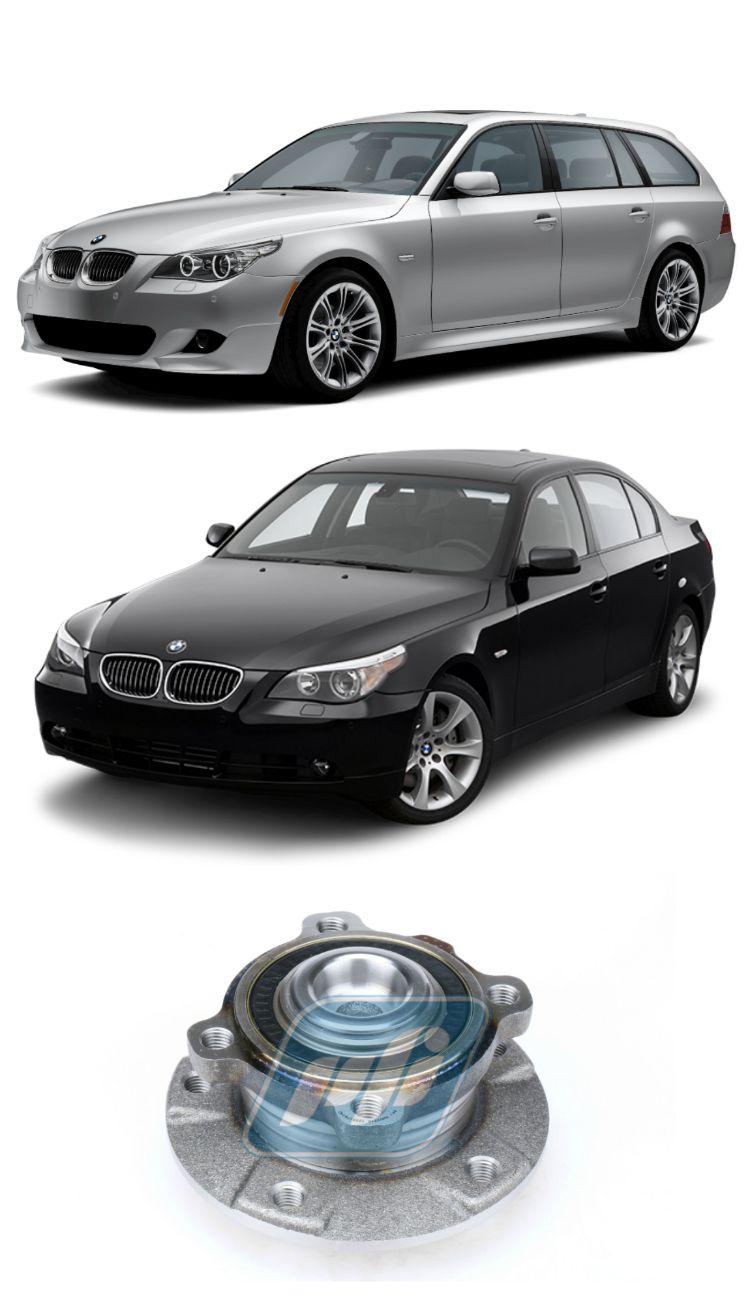 Cubo de Roda Dianteira BMW 520, 523,  525, 530, 540, 545, 550,  2004-2010, com ABS
