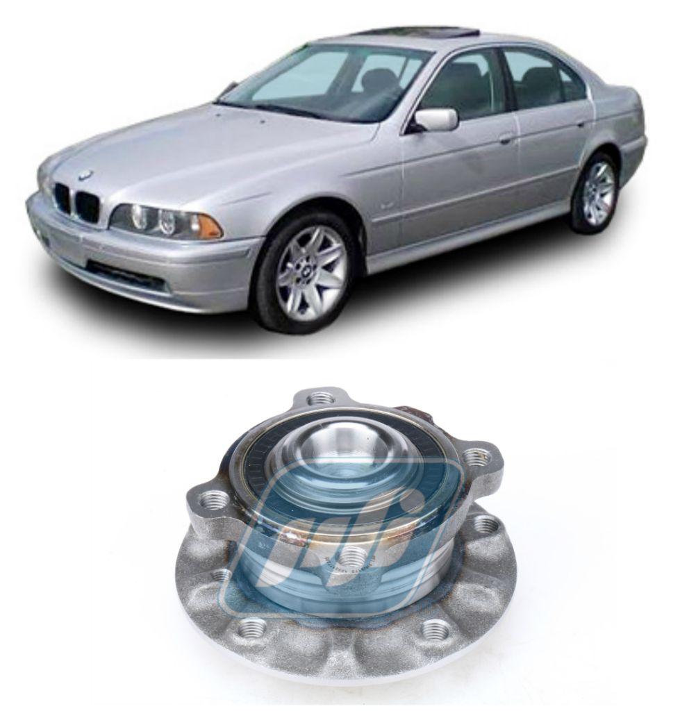 Cubo de Roda Dianteira BMW 520, 525, 528, 530, 540, 1996-2004, com ABS