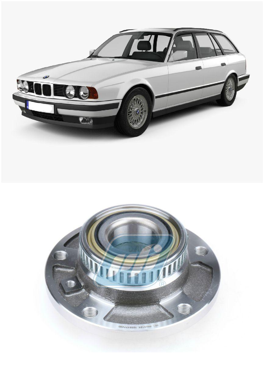 Cubo de Roda Dianteira BMW 540i Touring 1992-1997