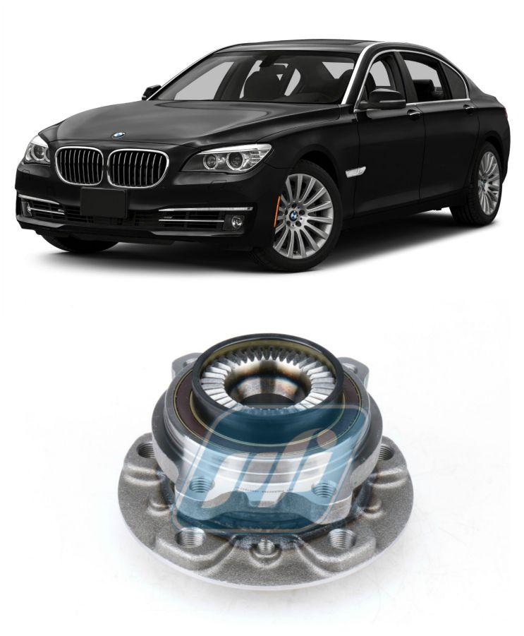 Cubo de Roda Dianteira BMW 750i, X-drive, 2009 até 2015, com ABS