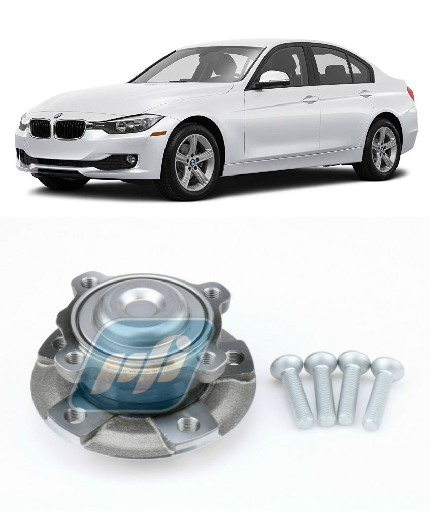 Cubo de Roda Dianteira BMW Active Hybrid 3 2012 até 2019, com ABS