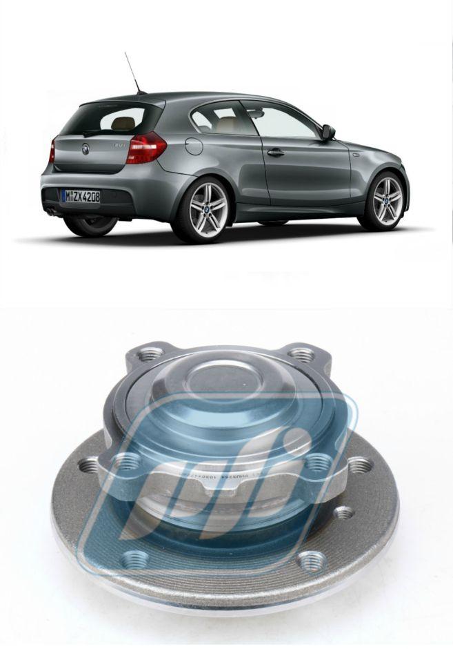 Cubo de Roda Dianteira BMW Serie 1 2004 até 2012, com ABS