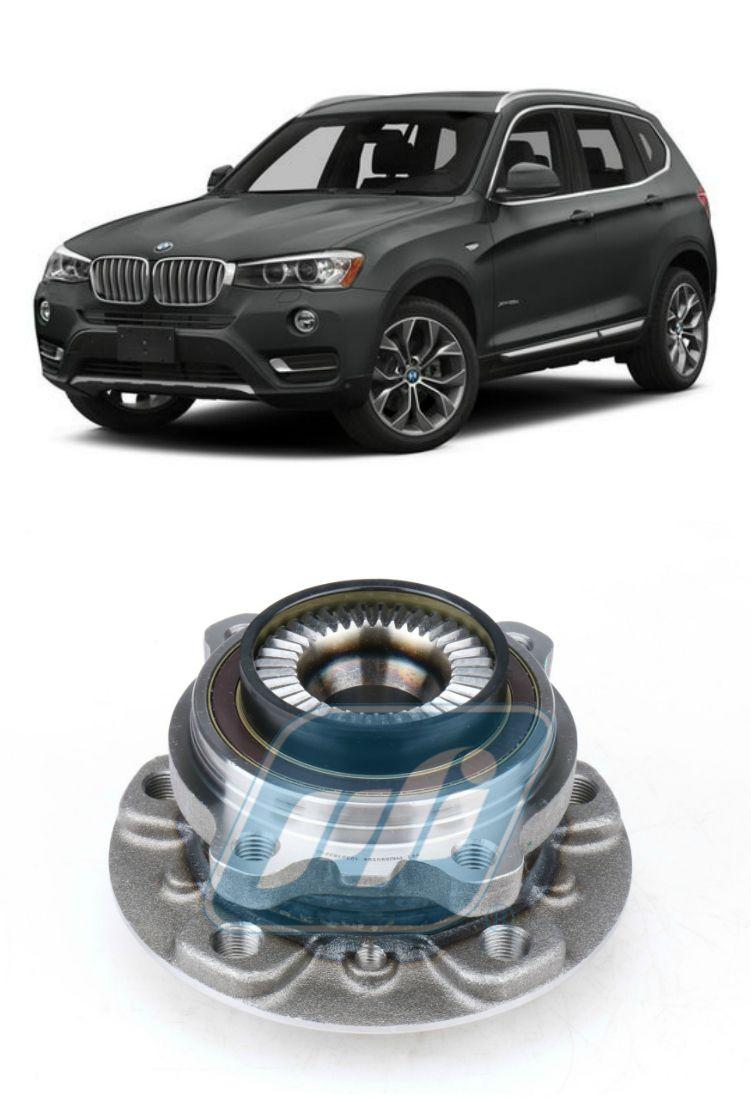 Cubo de Roda Dianteira BMW X3, X-drive, 2010 até 2017, com ABS