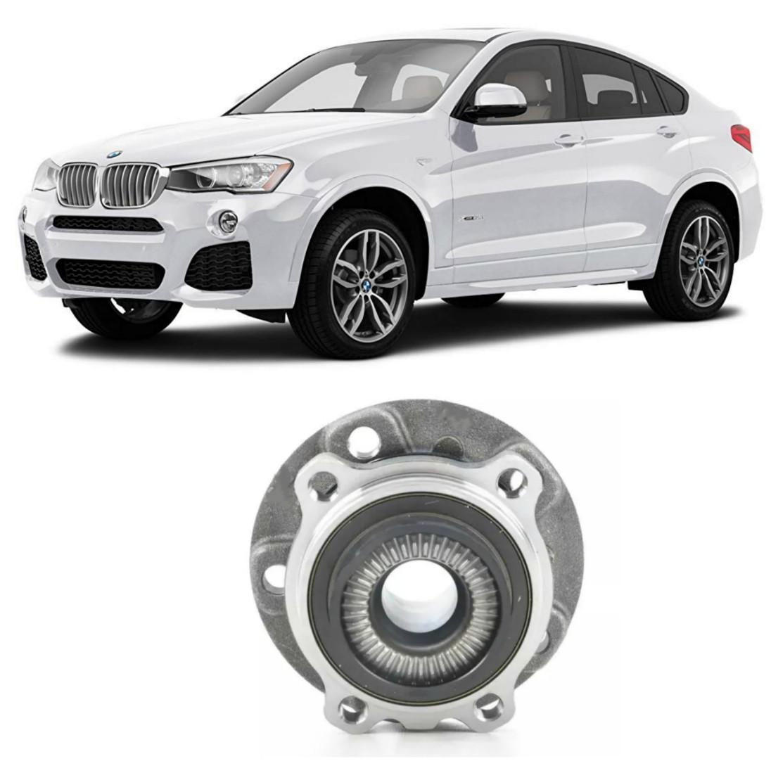 Cubo de Roda Dianteira BMW X4, X-drive, 2014 até 2018, com ABS