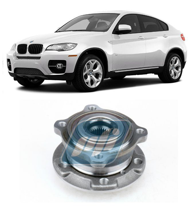 Cubo de Roda Dianteira  BMW X6 2007-2018 com ABS