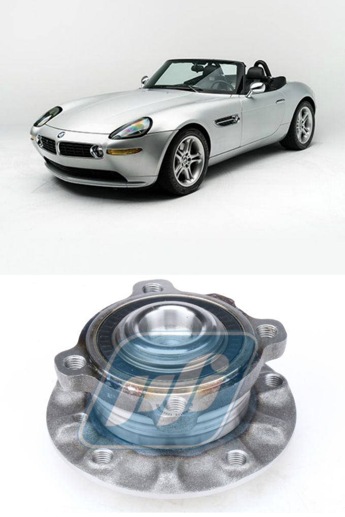 Cubo de Roda Dianteira BMW Z8 2000 até 2003, com ABS