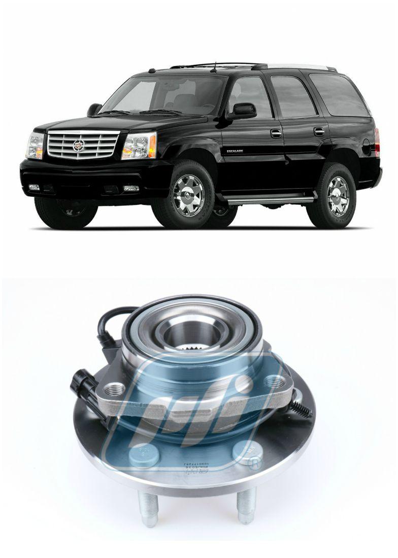 Cubo de Roda Dianteira CADILLAC Escalade 2002 até 2006, com ABS