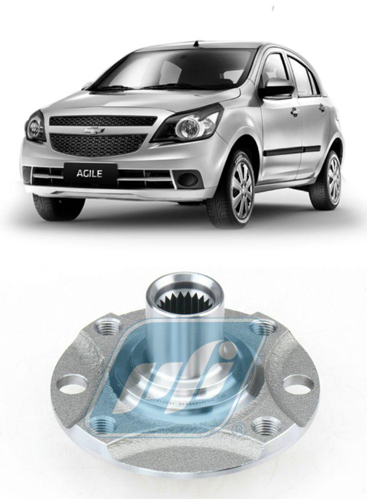 Cubo de Roda Dianteira Chevrolet Agile 2009-2014