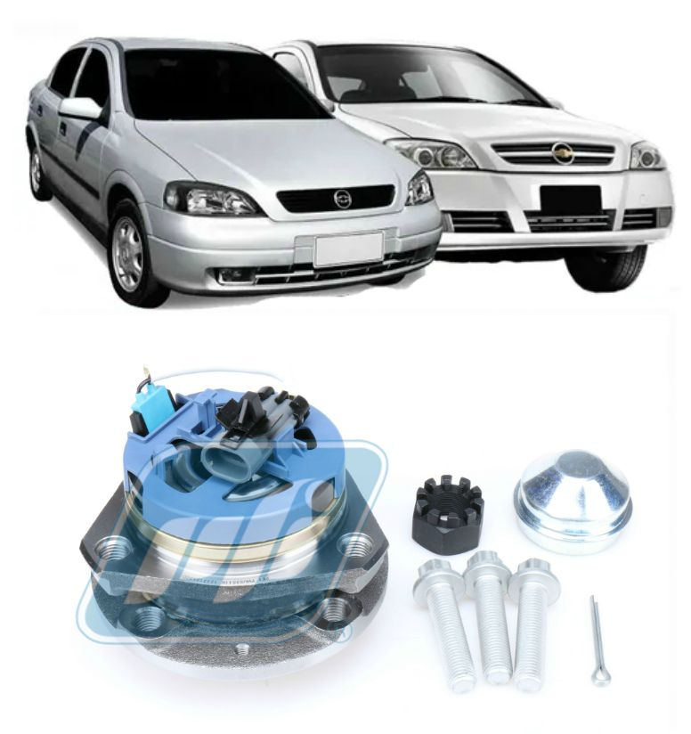 Cubo de Roda Dianteira CHEVROLET Astra 1999-2011, 4 furos, com ABS