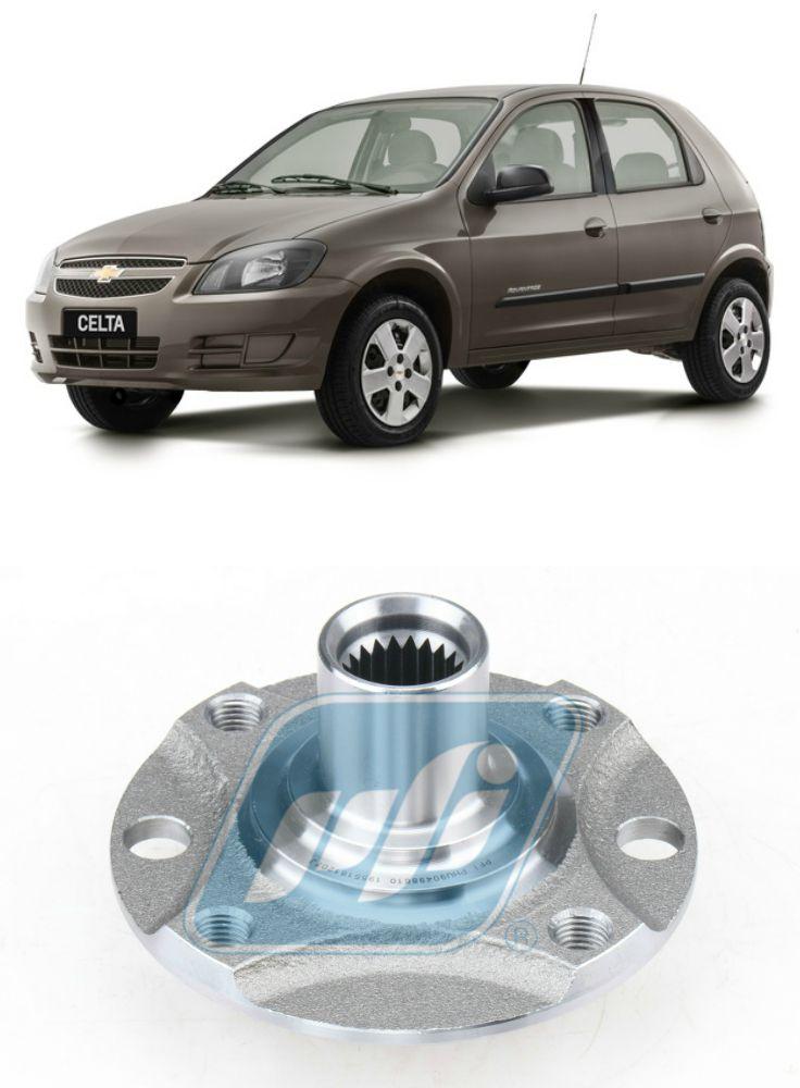 Cubo de Roda Dianteira Chevrolet Celta 2001-2015