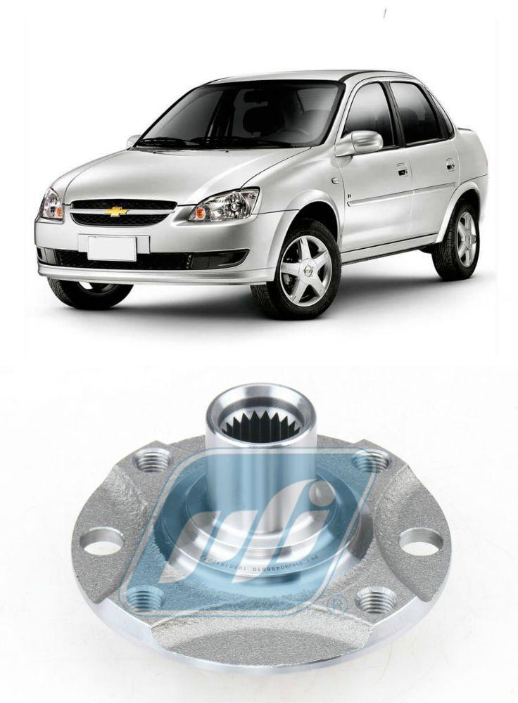Cubo de Roda Dianteira Chevrolet Classic 2002-2017