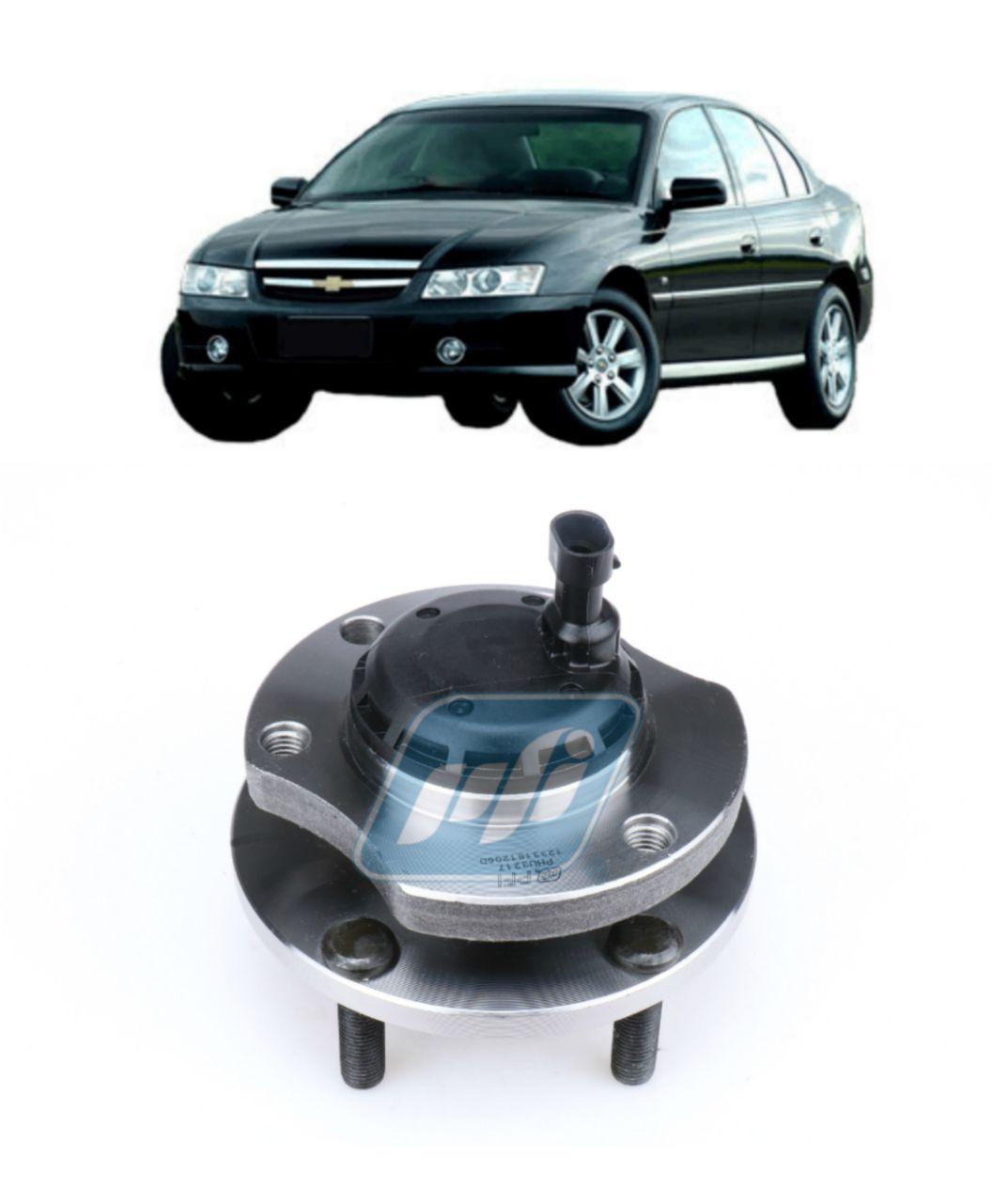 Cubo de Roda Dianteira CHEVROLET Omega 2000 até 2006 LE, com ABS